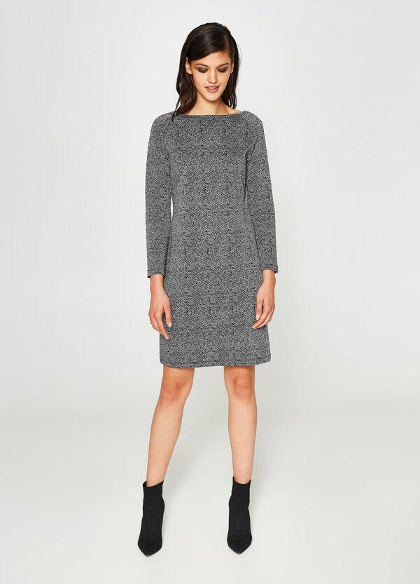 Stretch-Kleid geometrisches Muster | OVS
