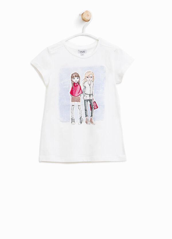 T-Shirt aus Baumwolle bedruckt   OVS