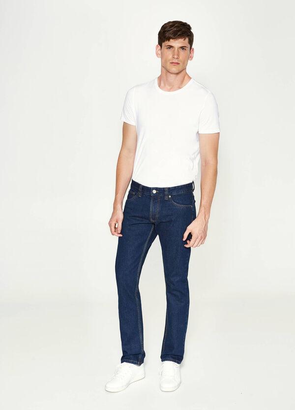 Einfarbige Jeans Regular Fit | OVS