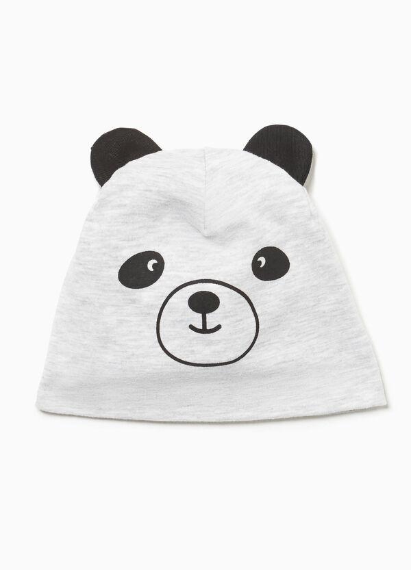 Mütze Aufdruck Panda