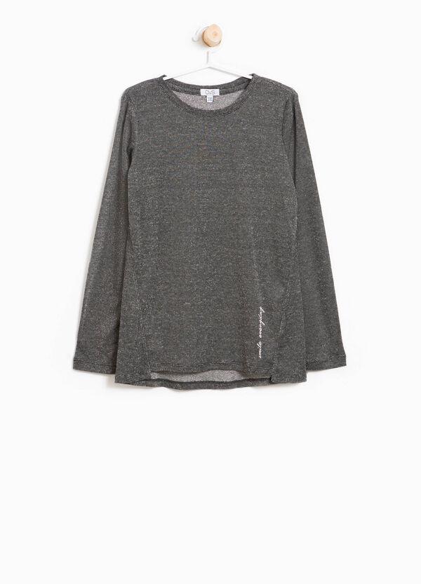 T-Shirt aus Viskosestretch bedruckt | OVS