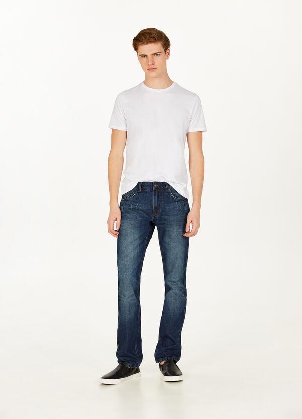 Jeans Regular Fit mit Destroyed-Stellen