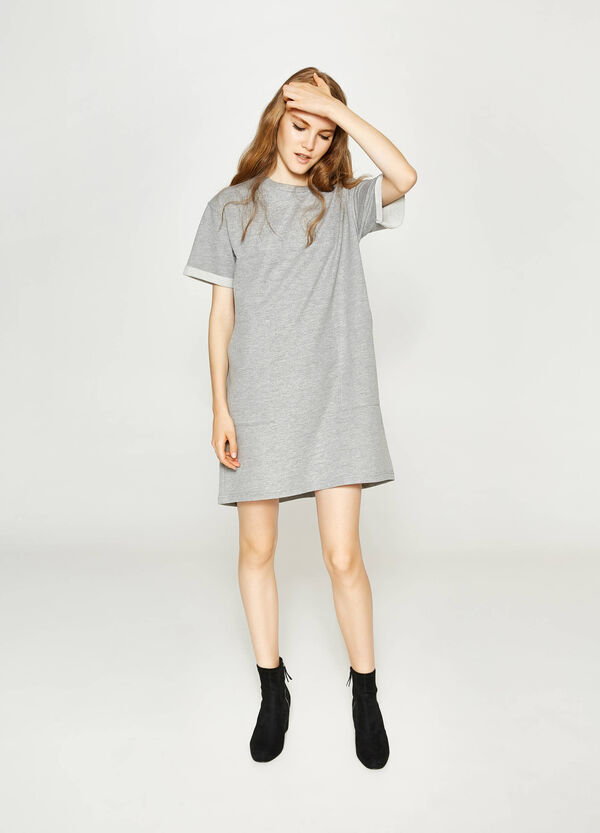 Kleid aus Baumwoll-Mix mit Taschen | OVS