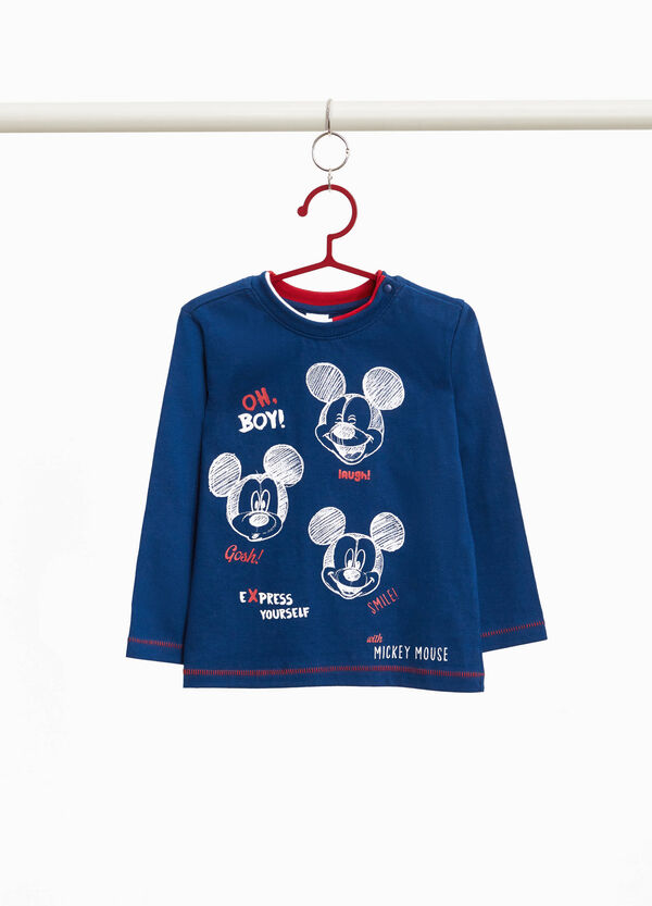 T-Shirt reine Baumwolle Mickey Mouse