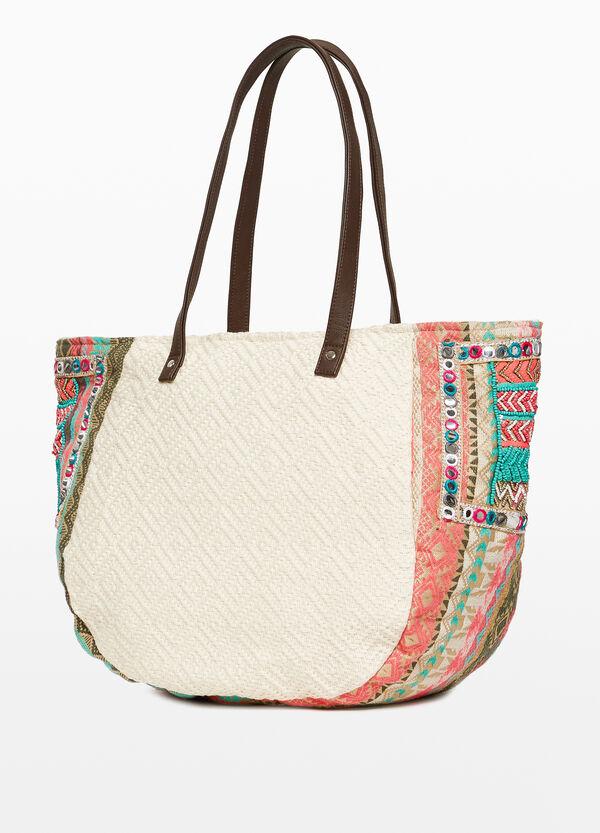 Shopping Bag Baumwolle Ethno-Muster