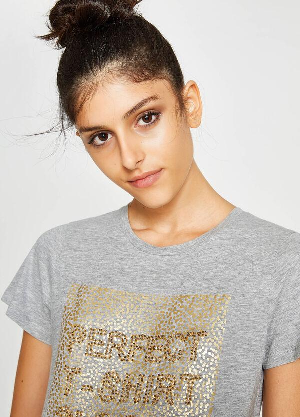 T-Shirt aus reiner Baumwolle   OVS