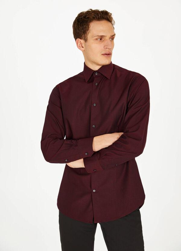 Business-Hemd Regular Fit aus Baumwolle