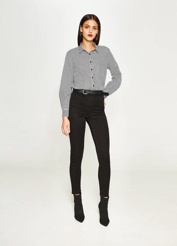 Stretch-Jeans Super Skinny Fit mit hohem Bund | OVS