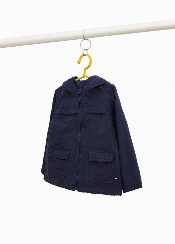 Blouson mit Kapuze und Taschen