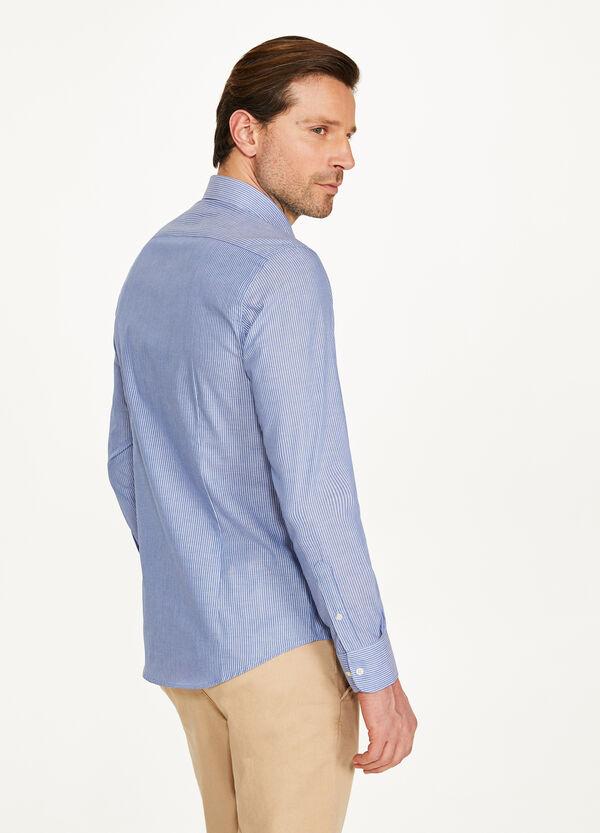 Lässiges Hemd Slim Fit mit Streifen