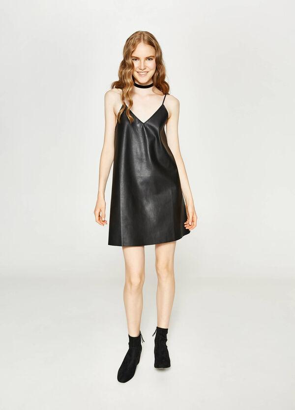 Ärmelloses Kleid mit V-Ausschnitt | OVS