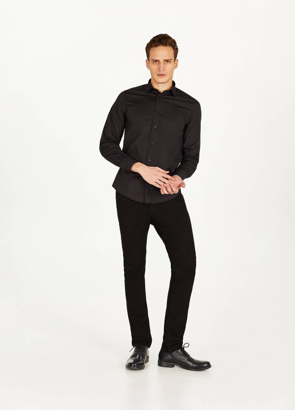 Business-Hemd Slim Fit klassisch