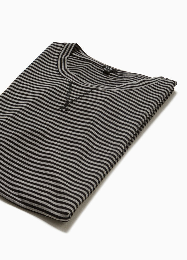 Stretch-Kleid gestreift Smart Basic