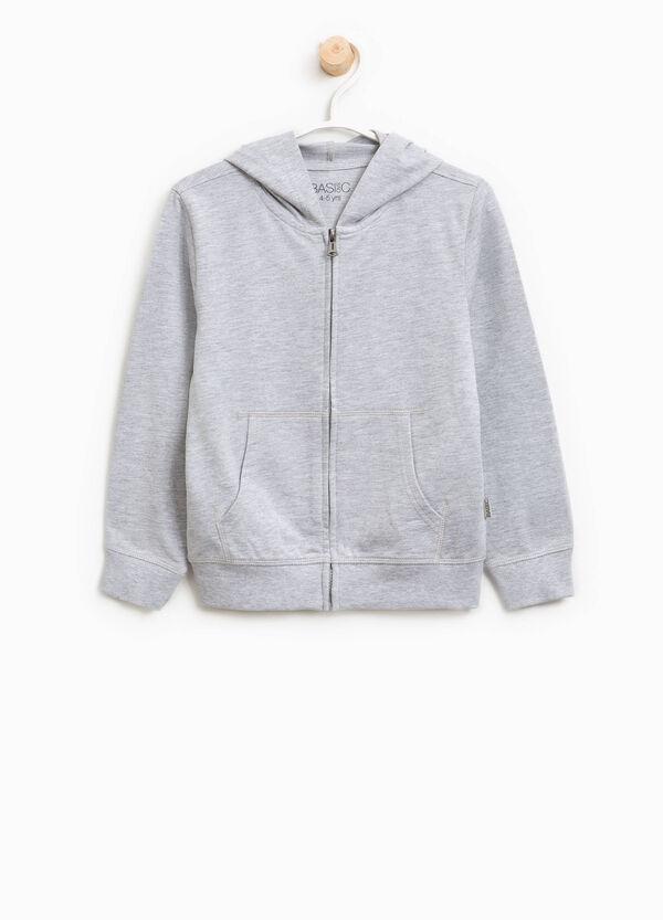 Sweatshirt aus Baumwolle mit Kapuze | OVS