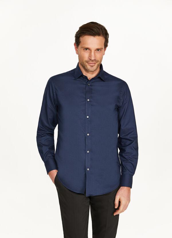 Formales Hemd Regular Fit einfarbig