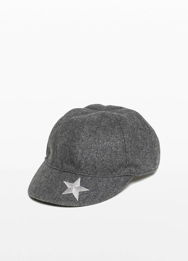 Baseball-Cap Stickerei Stern