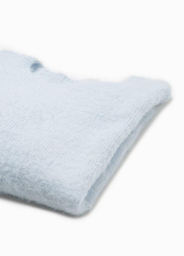 Pullover ausgefranst mit Trikot-Verarbeitung