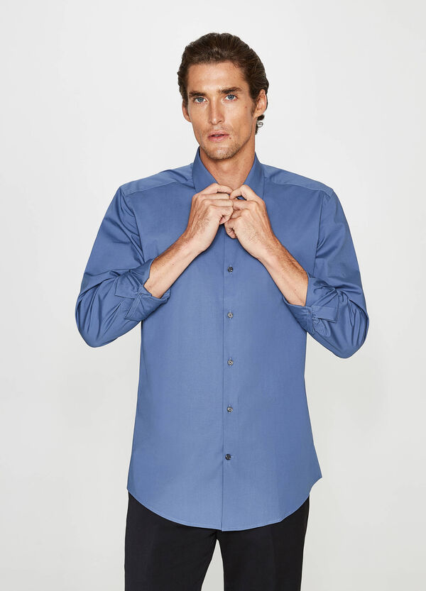 Formales Hemd Slim Fit einfarbig | OVS