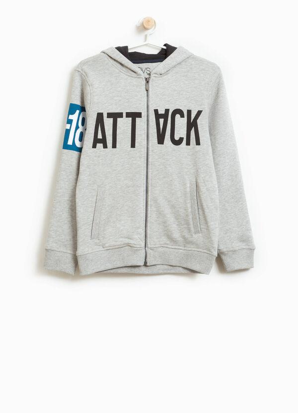 Sweatshirt Baumwolle und Viskose bedruckt | OVS