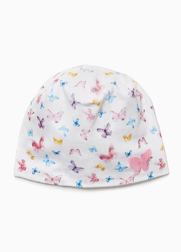 Mütze Muster Schmetterlinge