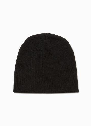 Einfarbige Mütze
