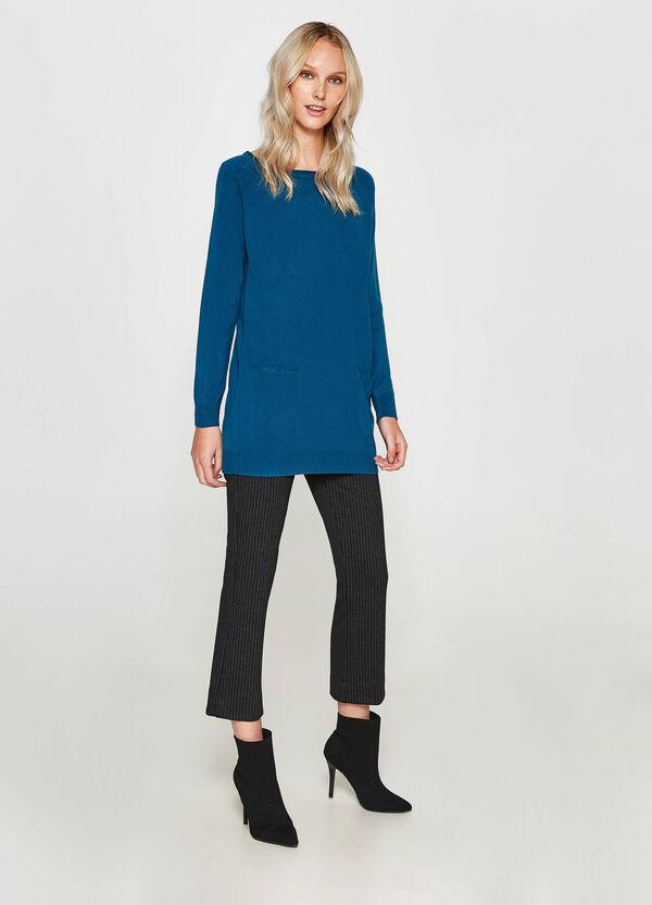 Langer Pullover mit Taschen | OVS