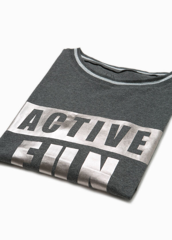 T-Shirt OVS Active Sport Training Aufdruck