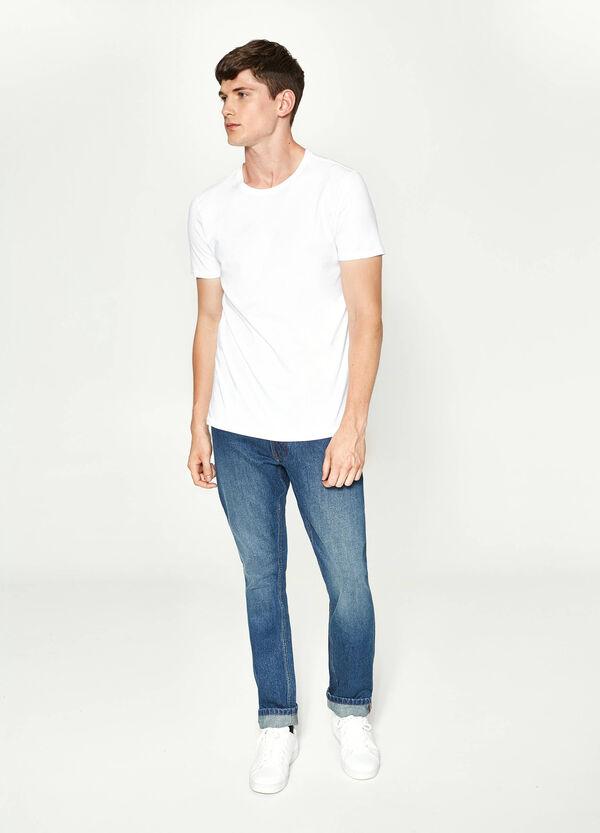 Jeans Regular Fit Washed-tut-Effekt