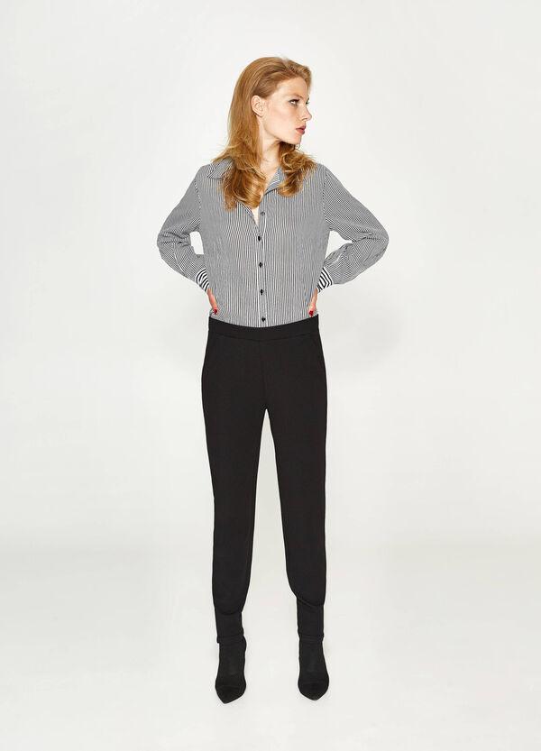 Stretch-Hose einfarbig | OVS