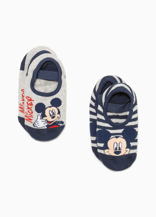Set zwei Paar Strümpfe Mickey Mouse