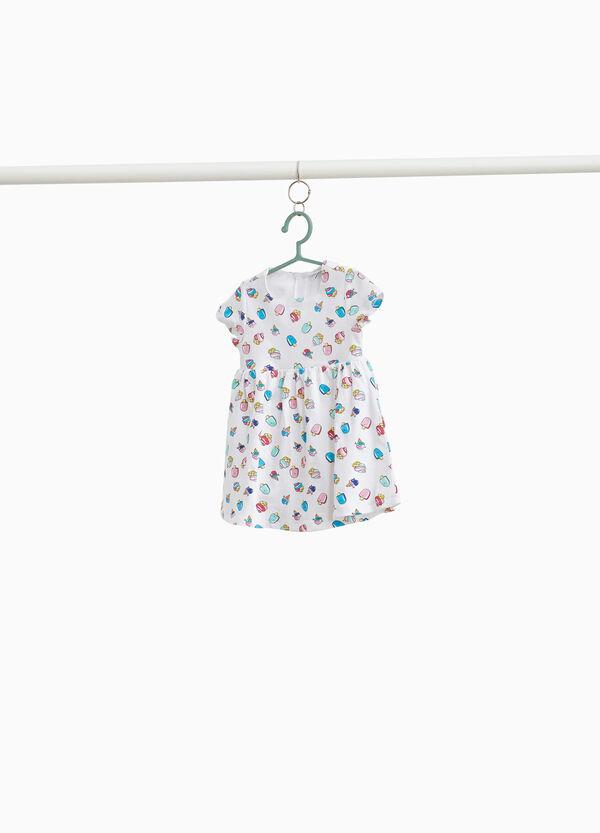 Stretch-Kleidchen Print Süßigkeiten