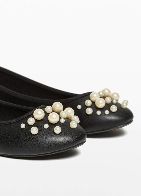 Ballerinas gehämmert mit Perlen