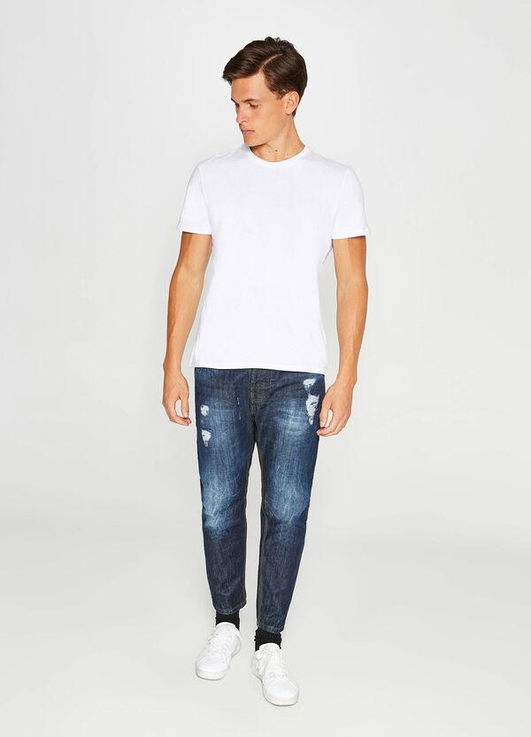 Jeans Loose Fit Effekt-Färbung mit Destroyed-Stellen | OVS