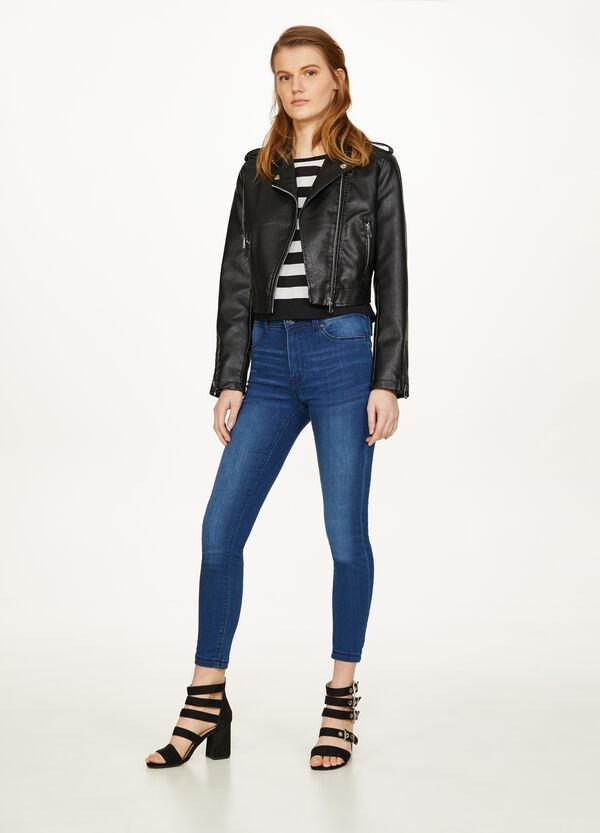 Jeans Super Skinny Fit mit Used-Effekt