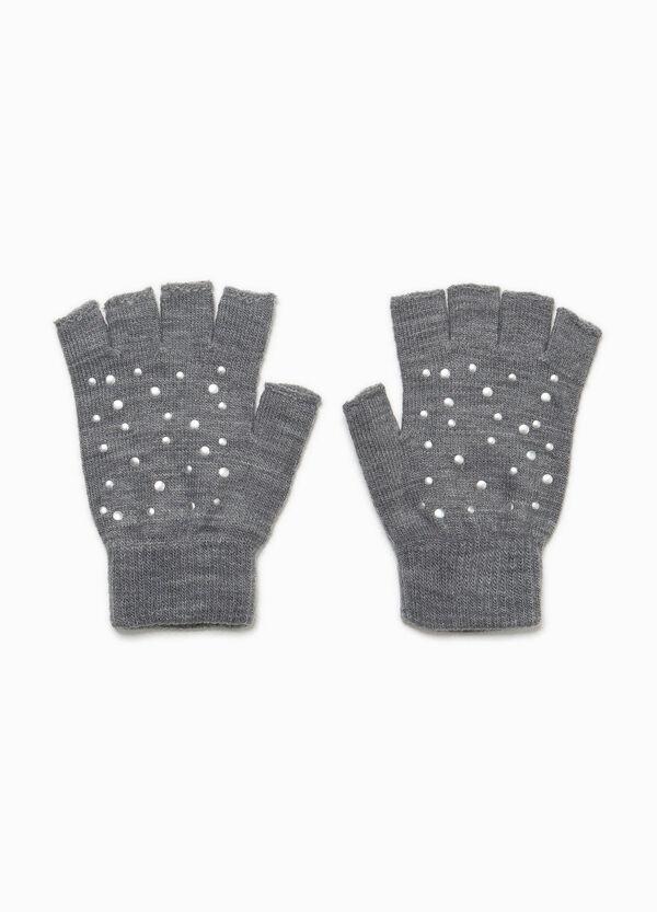 Fingerlose Handschuhe mit Nieten | OVS