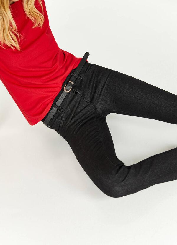 Stretch-Jeans Bootcut Fit mit Taschen