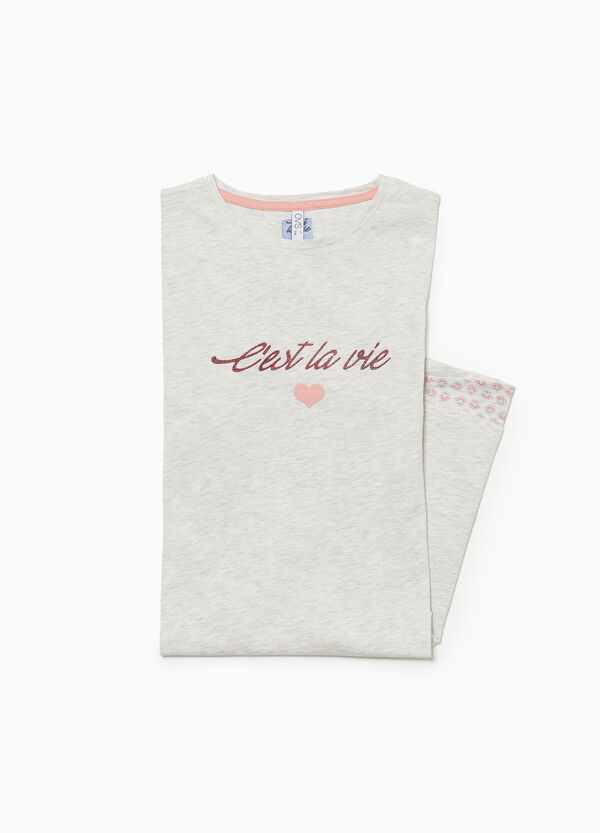 Nachthemd Baumwolle und Viskose