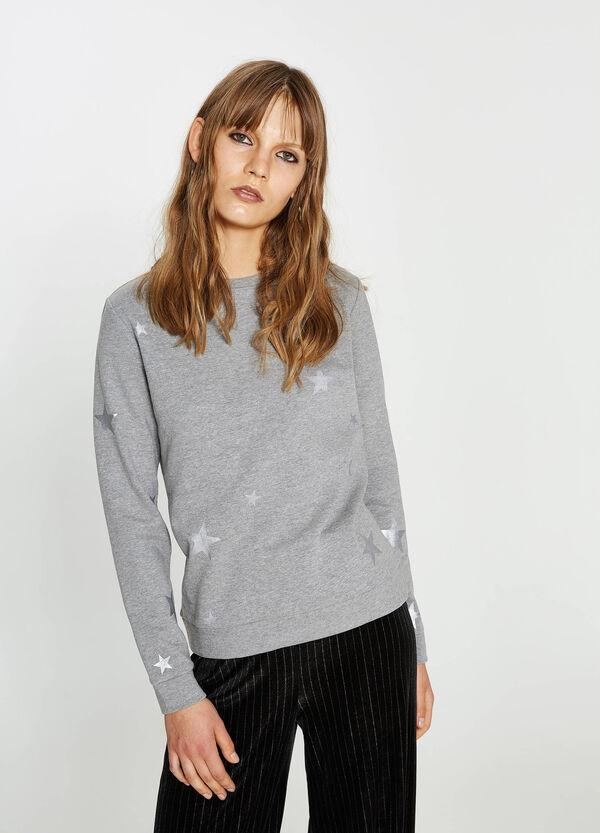 Sweatshirt reine Baumwolle bedruckt | OVS