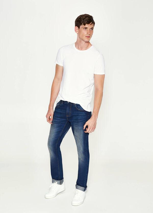 Jeans Straight Fit mit Aufschlag | OVS