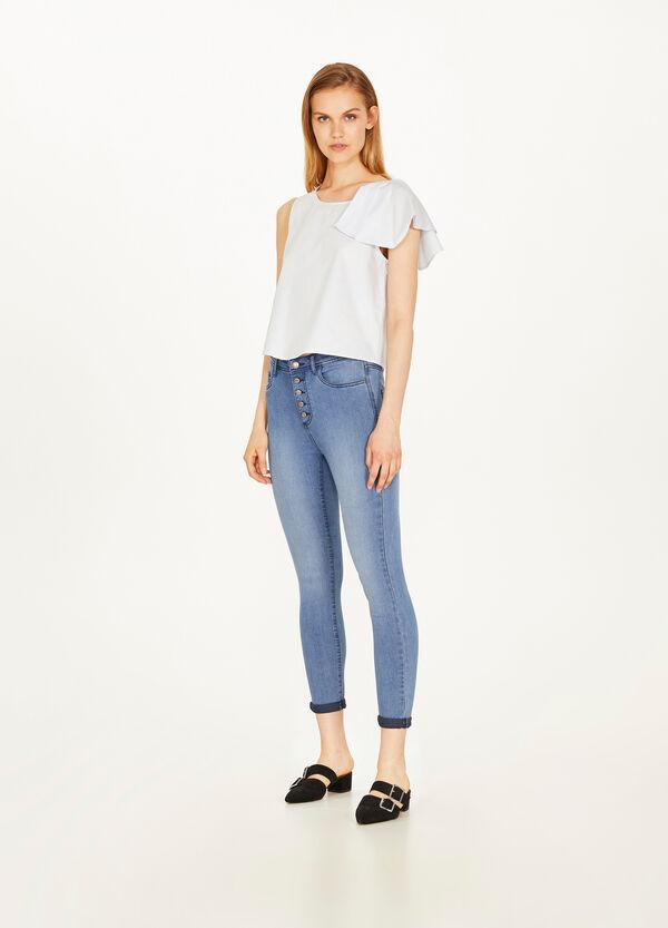 Jeans Skinny Fit Washed-out-Effekt