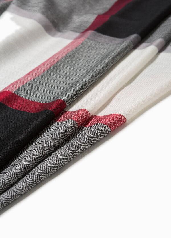 Schal Viskose geometrisches Muster | OVS