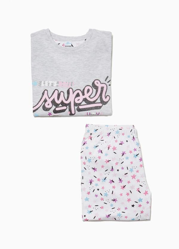Pyjama Baumwolle Aufdruck Soy Luna