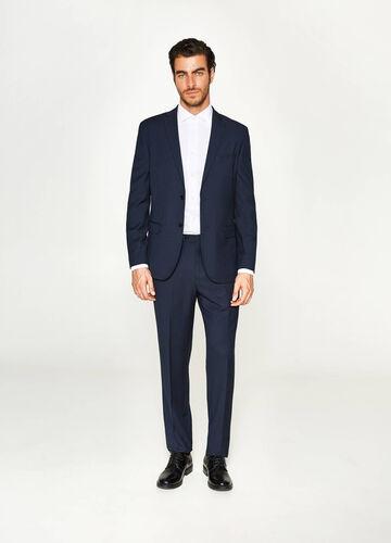 Anzug Regular Fit Streifenmuster