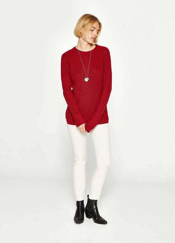 Hose Skinny Fit aus Baumwollstretch | OVS