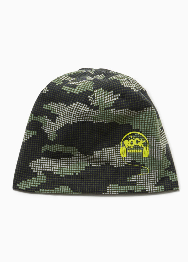 Mütze Jersey Camouflage