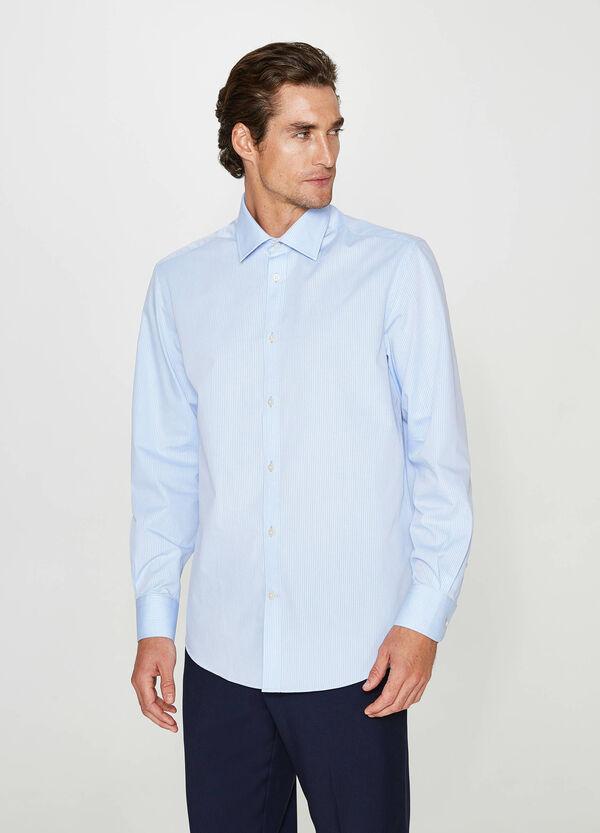 Business-Hemd Regular Fit mit Streifen | OVS