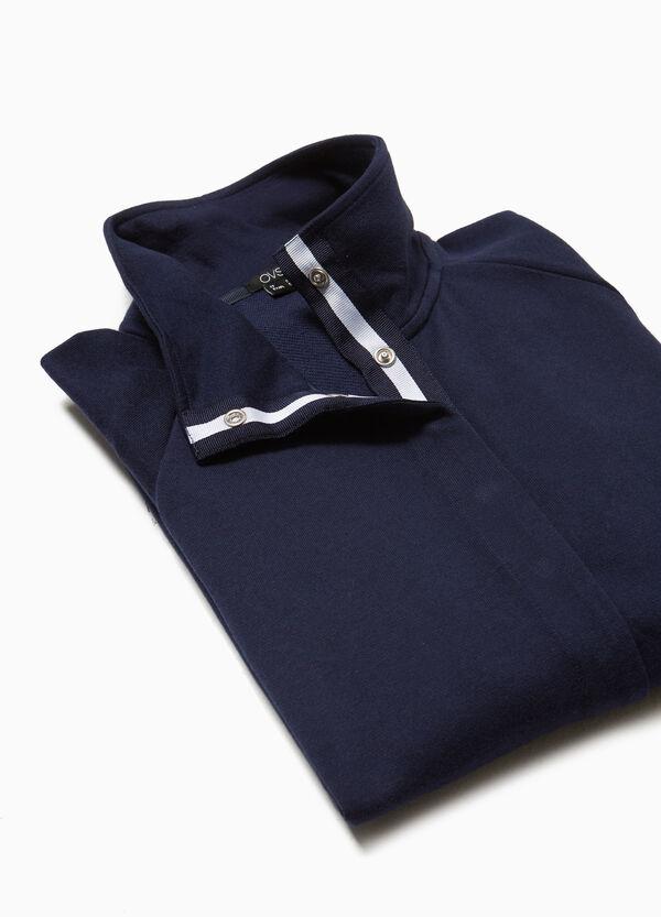 Sweatshirt Baumwolle und Modal Smart Basic