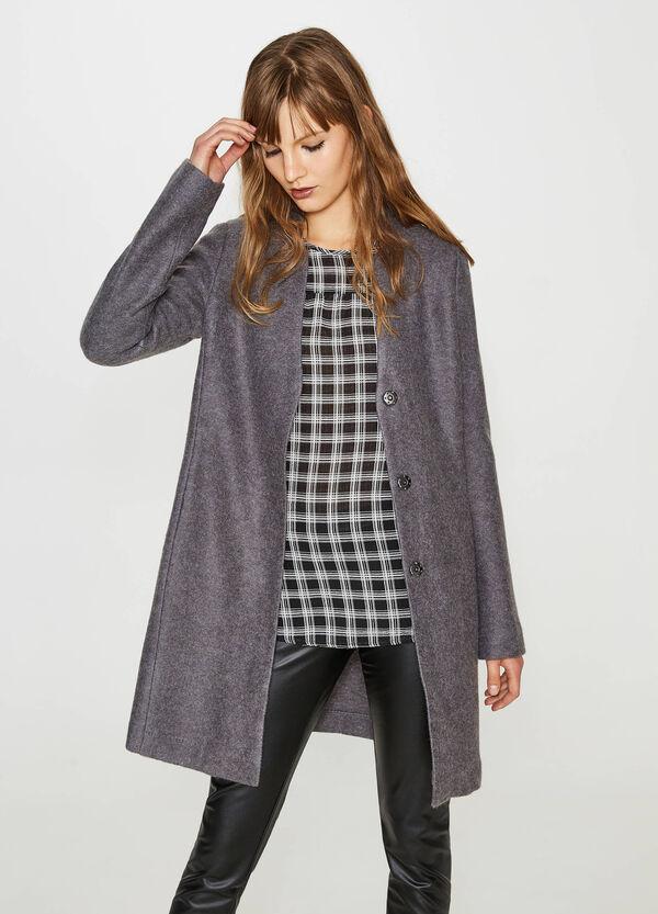 Mantel mit Druckknöpfen | OVS