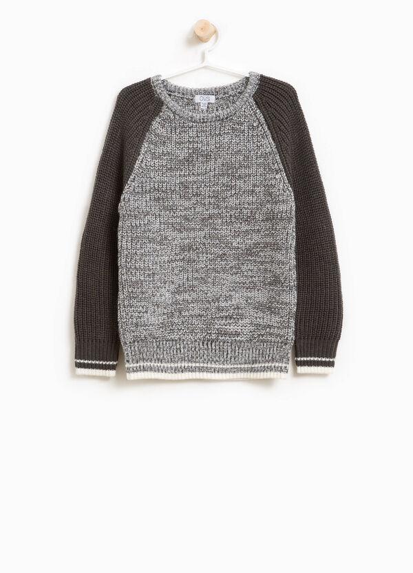 Pullover Trikot aus Alpaka-Wolle | OVS