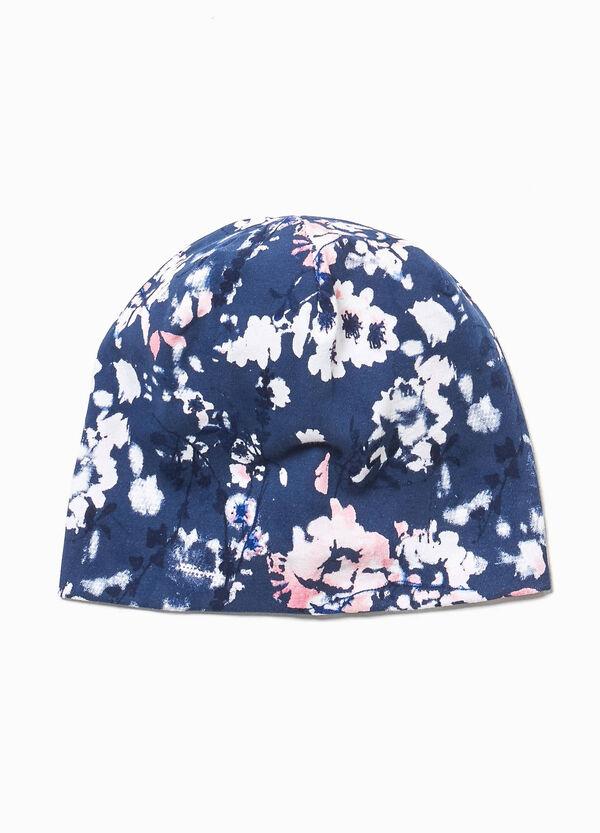 Mütze Jersey floral